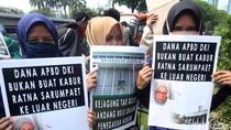 Aksi Mahasiswa dan Aktivis Tuntut Usut Tuntas Hoax Ratna Sarumpaet
