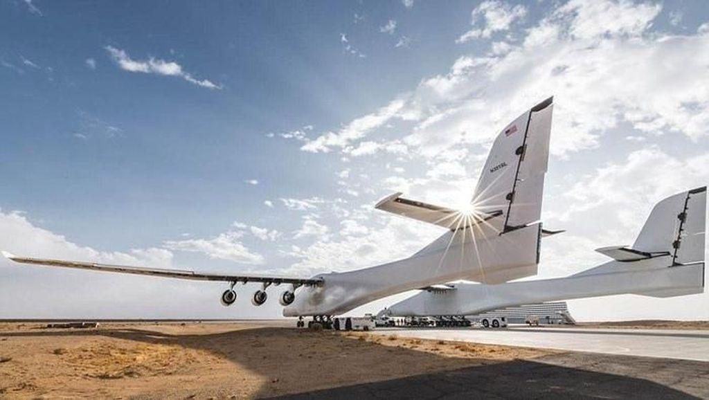 Melihat Lagi Perjalanan Pesawat Terbesar Sejagat yang Kini Dijual