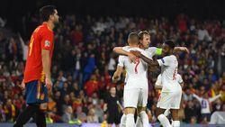 Gol-gol UEFA Nations League Spanyol 2-3 Inggris