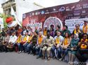 Serunya Delegasi IMF-WB Jajal Kuliner hingga Pakaian Adat Bali