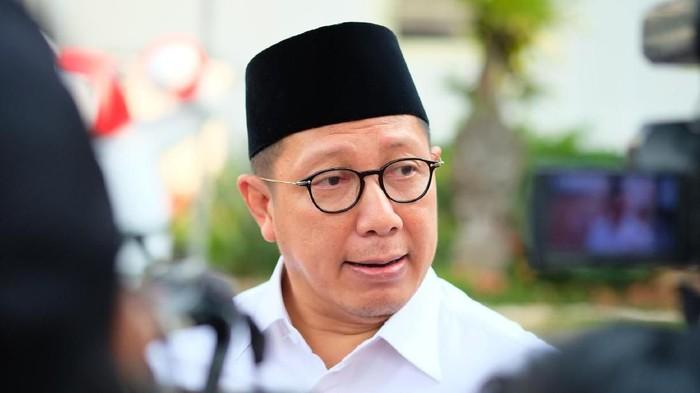 Menag Lukman Hakim Saifuddin (Andhika Prasetia/detikcom)