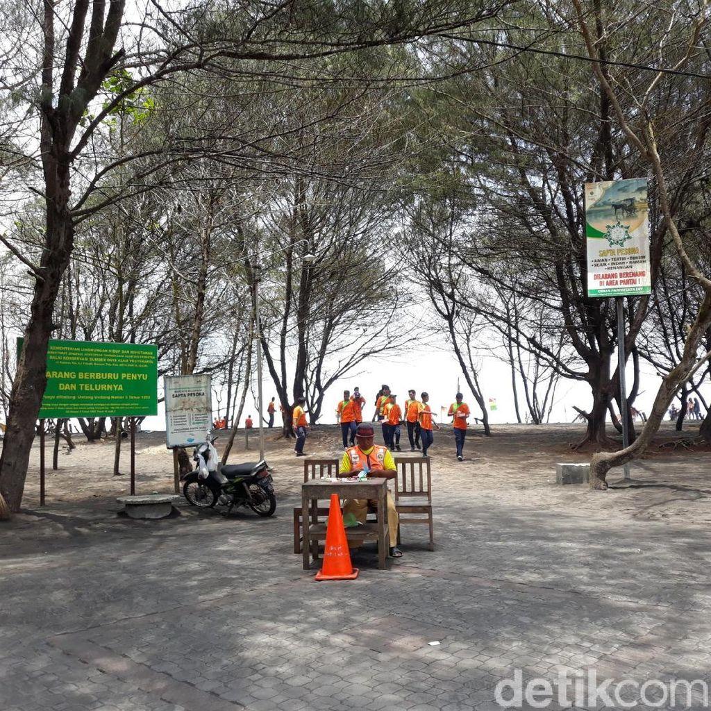 Ini Pantai Baru, Lokasi Sedekah Laut yang Dirusak Sekelompok Orang
