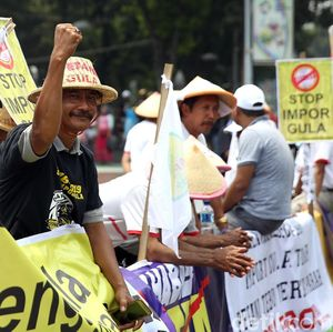 Minta Jokowi Setop Impor Gula, Petani Datangi Istana