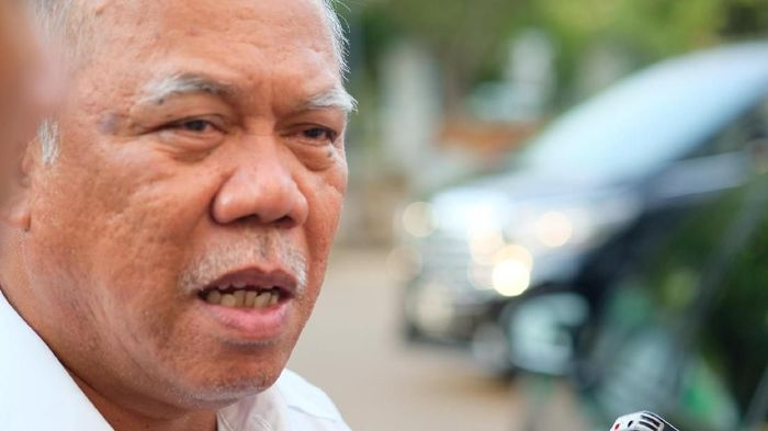 Foto: Menteri PUPR Basuki Hadimuljono. (Andhika Prasetia/detikcom).