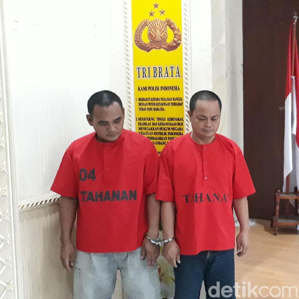 Peras Kepala Sekolah, 2 Wartawan di Cilegon Ditangkap