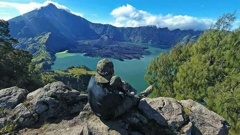 Kawasan Gunung Rinjani (dok. Geopark Rinjani)