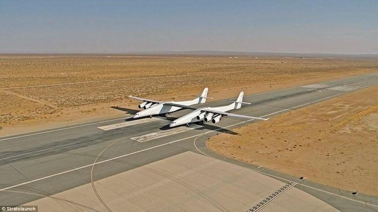 Warisan Pendiri Microsoft: Pesawat Terbesar Sejagat Stratolaunch