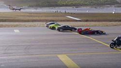 Balapan Mobil F1 vs Jet F-16 vs Motor 998cc vs Supercar, Siapa Menang?