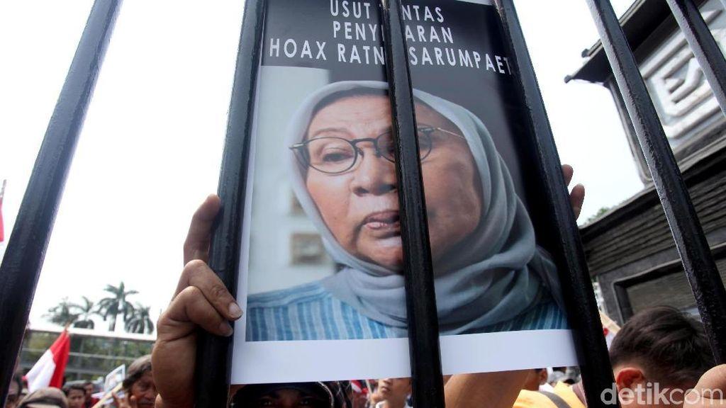 Polisi Mulai Susun Berkas Kasus Hoax Penganiayaan Ratna Sarumpaet