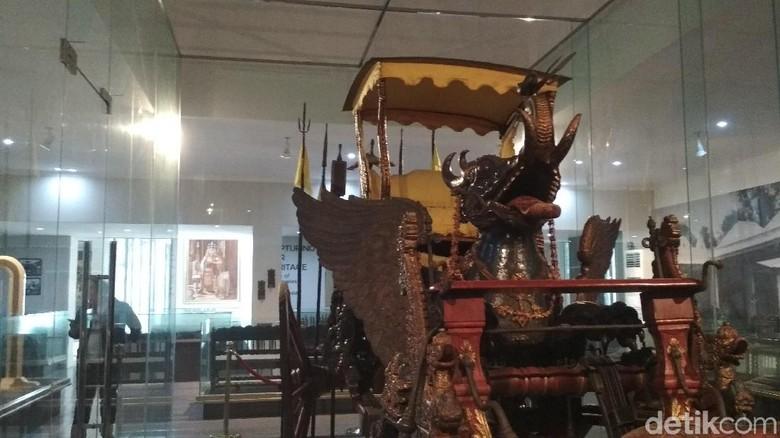 Museum Pusaka Keraton Kasepuhan di Cirebon. (Foto: Sudirman Wamad/detikcom)