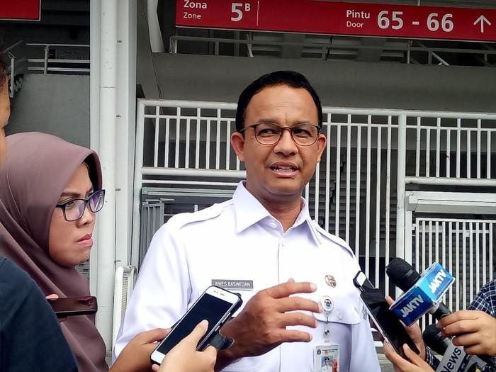 Foto: Gubernur DKI Jakarta Anies Baswedan. Fotografer: Muhammad Fida Ul Haq