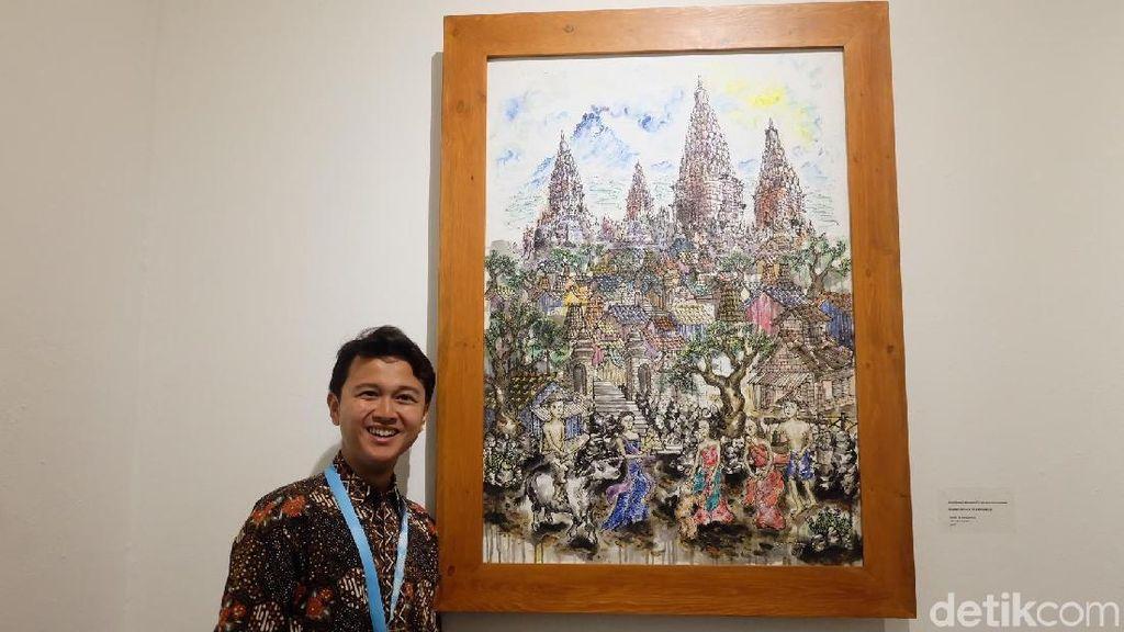 Seniman Tunarungu Bagaskara Maharastu Berkarya Tanpa Batas