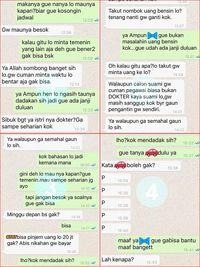 Screenshot percakapan