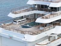 Kapal pesiar ini merupakan salah satu dari superyachts pribadi terbesar di dunia dan dapat menampung 26 penumpang dan 63 anggota kru (Istimewa)