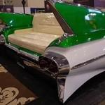 Unik! Sofa dari Buntut Belakang Mobil Klasik Karya Anak Bangsa