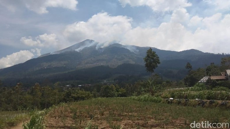 Kebakaran di Gunung Merbabu Meluas hingga Kawasan Boyolali
