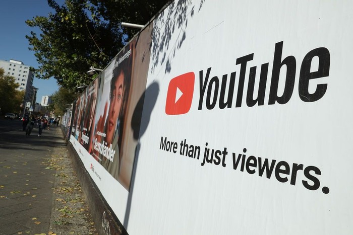 Logo YouTube. Foto: Sean Gallup/Getty Images