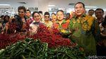 Momen 3 Anak Soeharto Buka Supermarket di Cibubur