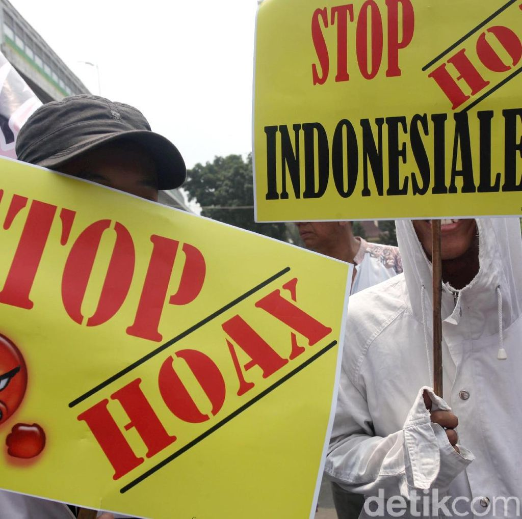 10 Hoax Temuan Kominfo yang Hebohkan Masyarakat Sepekan Ini