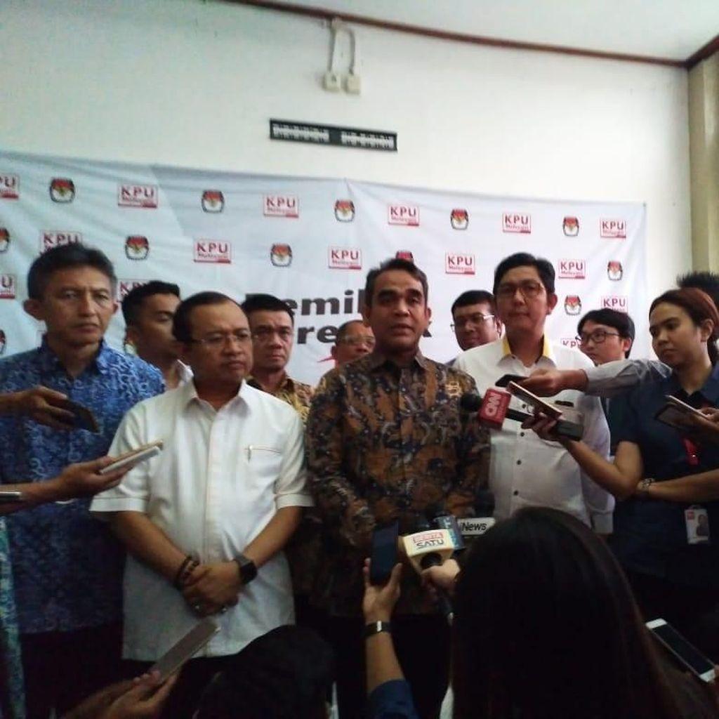 Datangi KPU, Tim Prabowo Tanyakan 31 Juta Pemilih Belum Masuk DPT