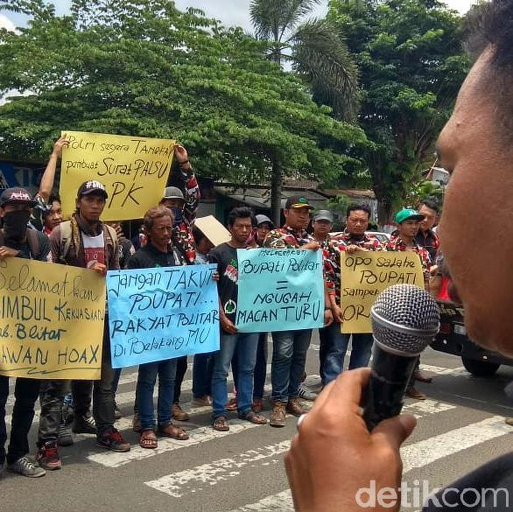 Warga Blitar Desak Polisi Usut Pemalsu Surat KPK