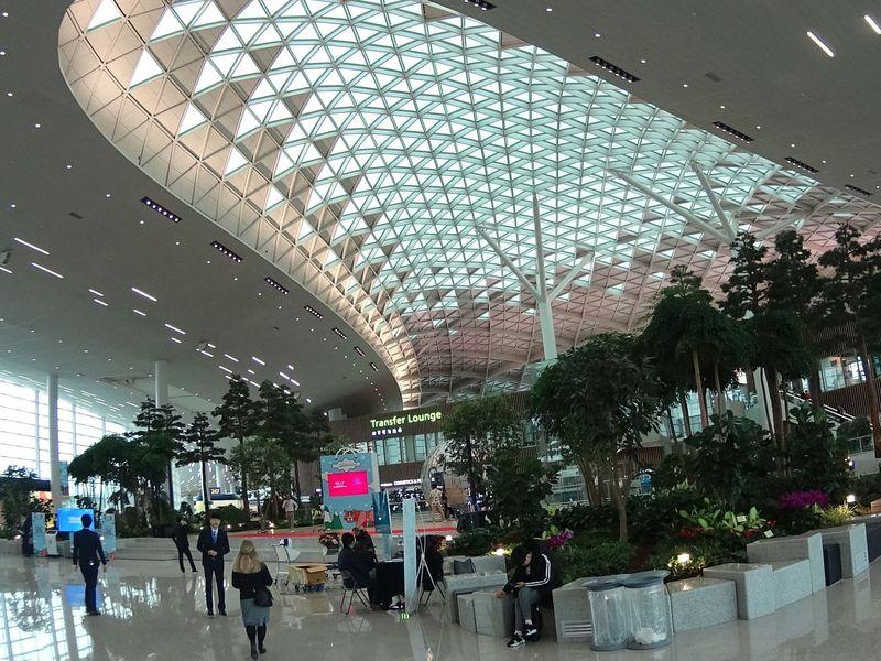 Dalam daftar bandara yang paling sering masuk Instagram versi Globehunters, Bandara Internasional Incheon di, Incheon, Korea Selatan menempati posisi pertama dengan 1.295.111 foto (Korean Air)