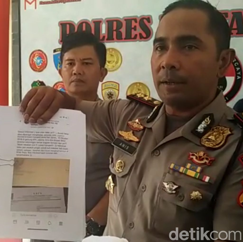 Polres Blitar Mulai Bergerak Selidiki Kasus Pemalsu Surat KPK