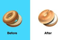 Apple Perbaiki Emoji Bagel yang Bikin Netizen Marah