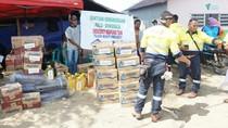 Tambang Emas Banyuwangi Beri Bantuan Korban Bencana Sigi Sulteng