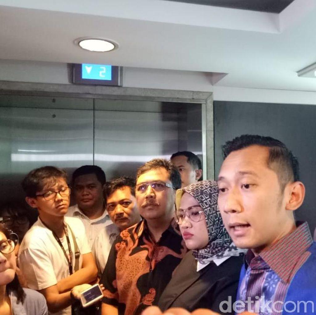 Ibas Prihatin dan Kecam Peluru Nyasar di Ruang Anggota DPR F-PD