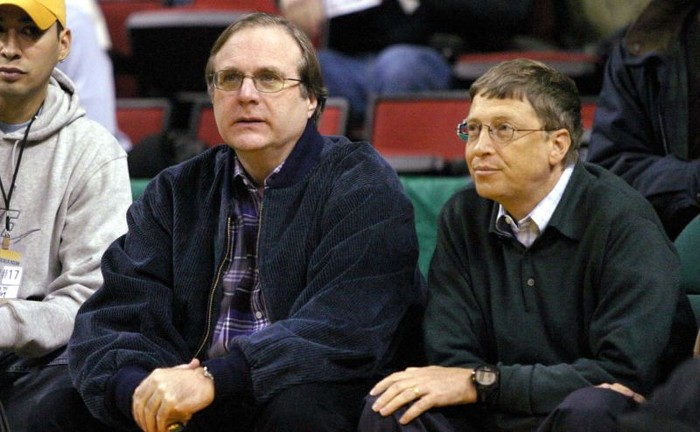 Bill Gates bersama Paul Allen. Foto: Bill Gates