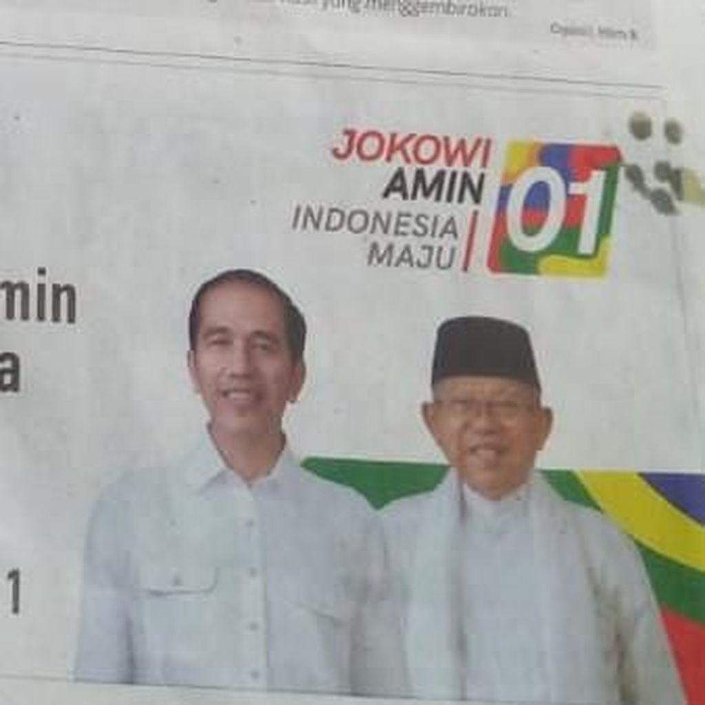 Iklan Rekening di Koran Disoal, PDIP: Masa Jokowi Harus Pakai Masker?