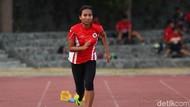 Sprinter Arianti Tak Sadari Buta Sebelah Mata