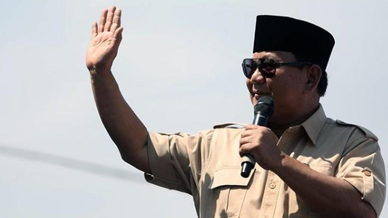 Prabowo Disarankan Ganti Kostum Agar Menang, Ini Kata Gerindra