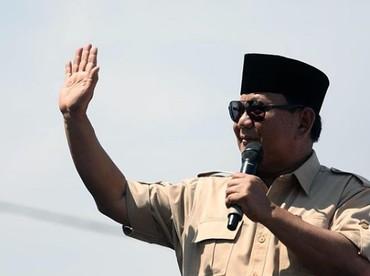 Prabowo Sabianto, capres RI merayakan ulang tahun ke-67 hari ini. Seperti apa ya foto masa kecil Prabowo? Klik foto berikutnya, Bun. (Foto: Instagram @prabowo)