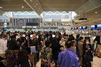 Dengan peningkatan volume yang tinggi, Bandara Narita harus memiliki fasilitas yang efisien dan membuat penumpang menghemat waktu (Getty Images)