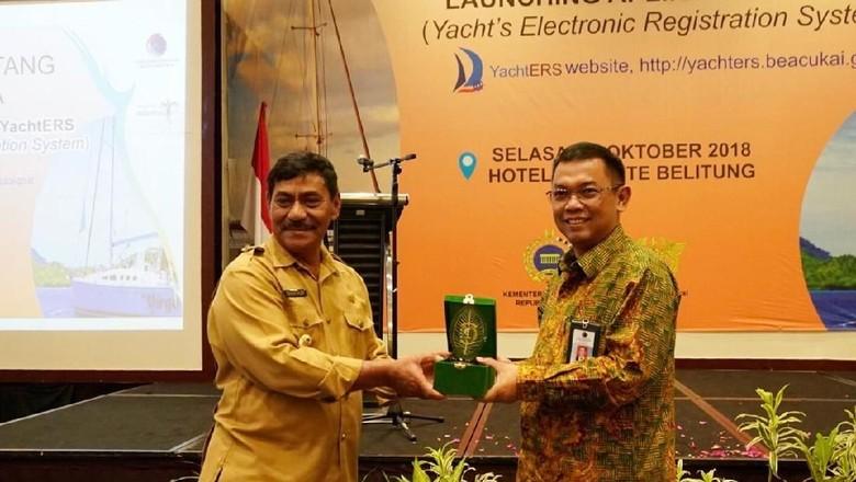 Foto: Peluncuran Aplikasi YachtERS (dok Kemenkomaritim)