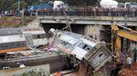 Kecelakaan Kereta Api di Maroko 6 Orang Tewas dan Puluhan Terluka