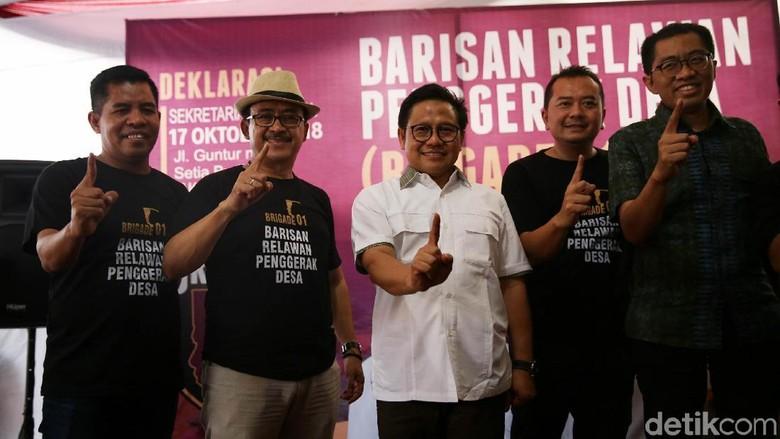 Deklarasi Brigade 01 Dukung Jokowi Maruf Amin