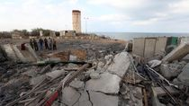 Militan Palestina dan Israel Saling Serang