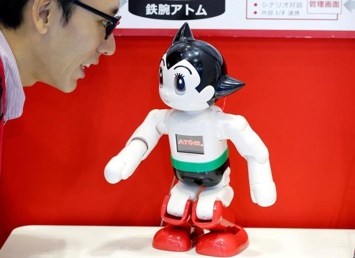 Ilustrasi robot. Foto: Reuters
