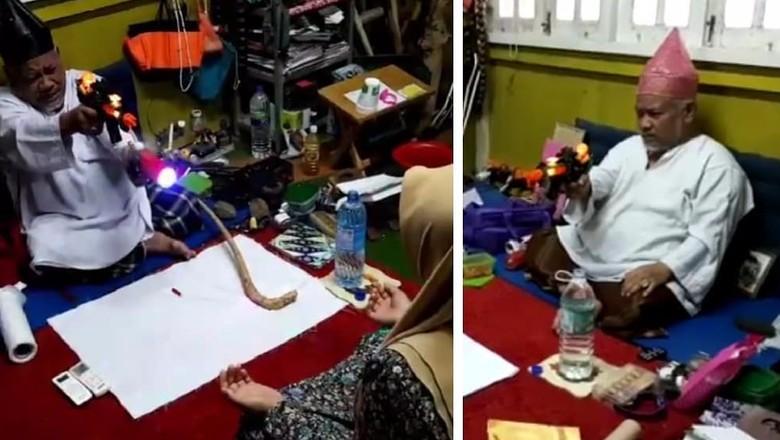 Viral Rukiah Pakai Pistol Mainan, Ini Penjelasan Ustaz di Malaysia