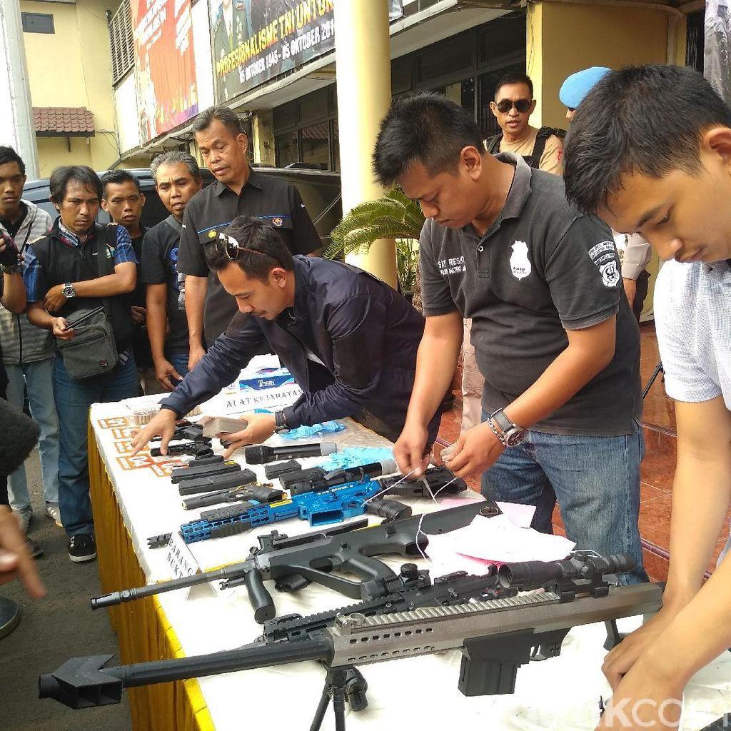 Kasus Senpi Ilegal Pria Bunuh Diri di Jakbar Disetop Polisi