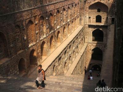 Sumur di India yang Tidak Biasa