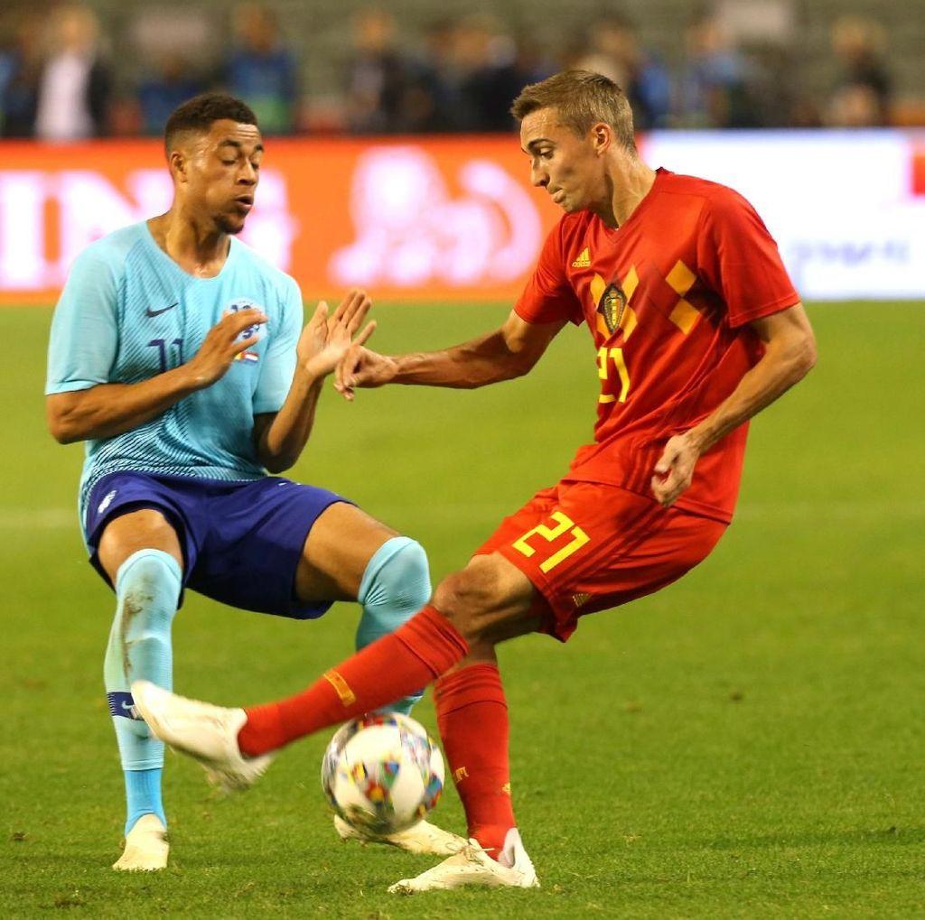 Hasil Belgia vs Belanda: Laga Berakhir Sama Kuat