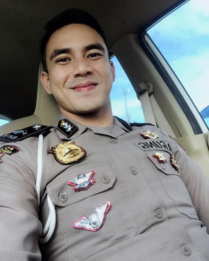 Bripda Agoeng Pratama adalah anggota kepolisian di Polres Bengkulu. Ia tergabung dalam unit respon cepat yang dikenal sebagau Unit Biawak Satuan Sabhara Polres Bengkulu. Foto: agoeng_pratama93
