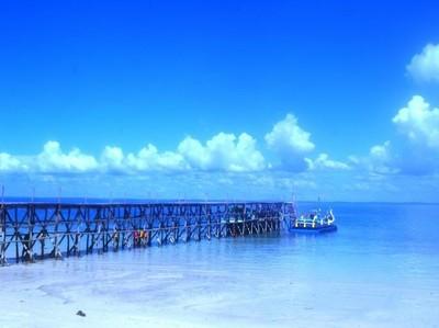 Pantai Ketawai yang Mendunia di Bangka
