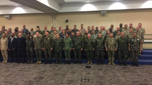KSAD dan para panglima militer seluruh dunia di AS