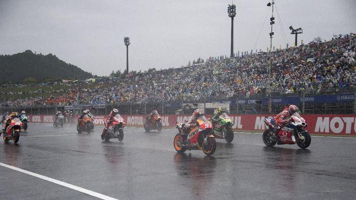 Saksikan live streaming MotoGP Jepang di detikSport. (Foto: Mirco Lazzari gp/Getty Images)