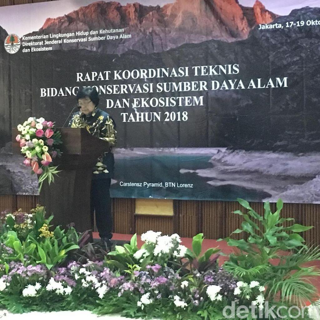 Menteri LHK Minta Jajarannya Hati-hati Kelola Hutan Konservasi